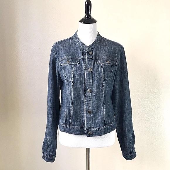 892d36432cb Garnet Hill Jackets   Blazers - Garnet Hill Classic Denim Jean Jacket  Stretch 12